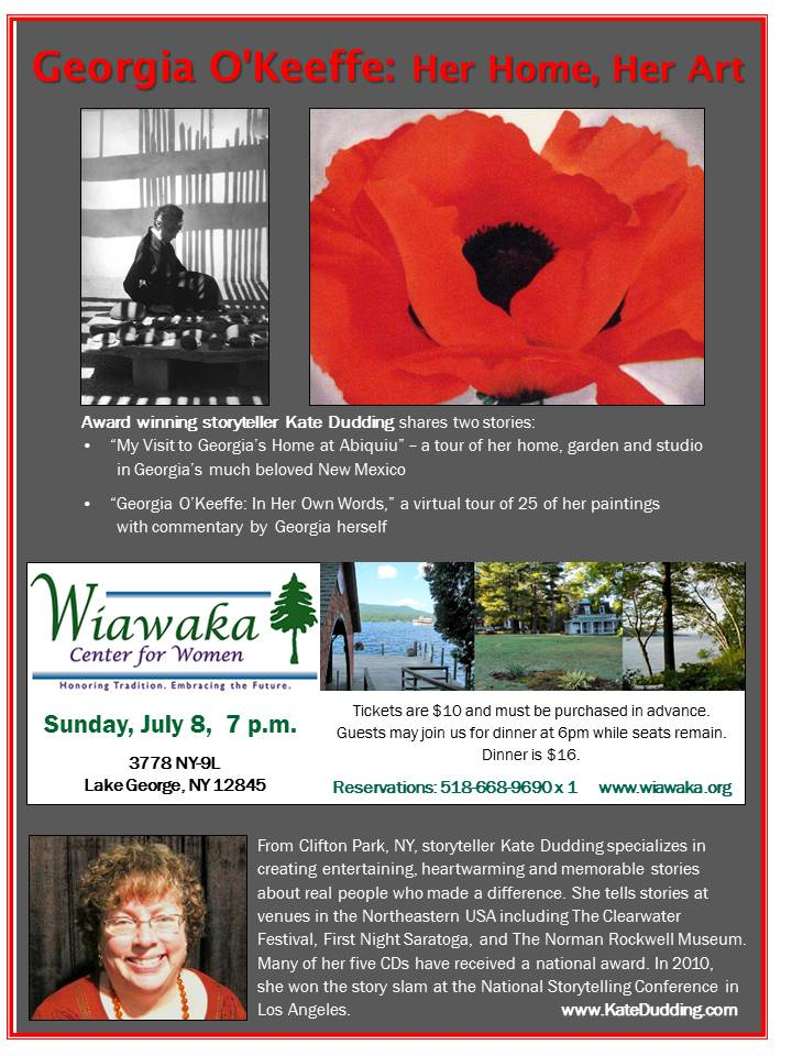 Poster for Wiawaka July 8