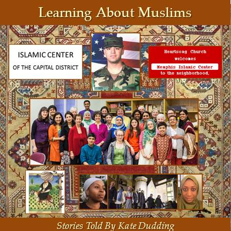 photo of cover of Kate Dudding's CD Learning About Muslims