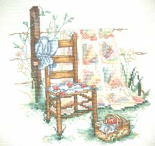 Cross stitch gift by Cathy
