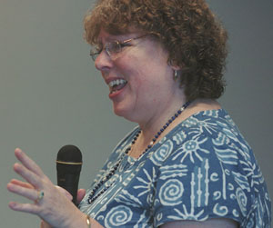 Photo of Kate Dudding telling at this event