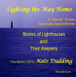 photo of cover of Kate Dudding's CD Lighting the Way Home