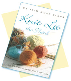 photo of cover of the book Knit Lit The Third
