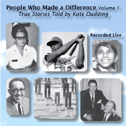 photo of cover of Kate Dudding's CD People Who Made a Difference: Volume 1