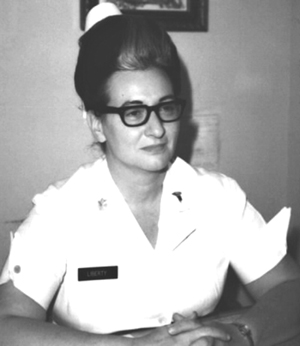 Photo of Lt. Colonel Frances M. Liberty ca. 1960