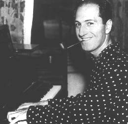 Photo of George Gershwin, age 37, 1936