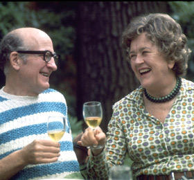 Photo of Paul and Julia Child
