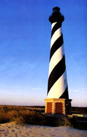 Photo of the Cape Hatteras Lighthouse